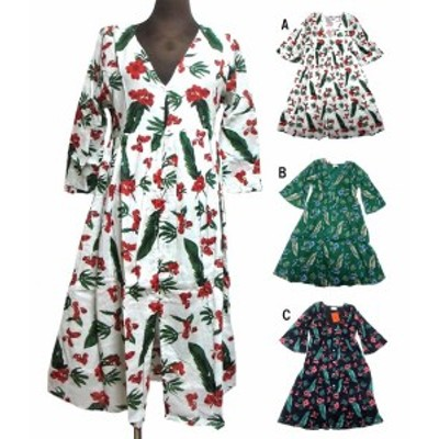ボタンエスニックワンピース エスニック衣料 エスニックアジアンファッション