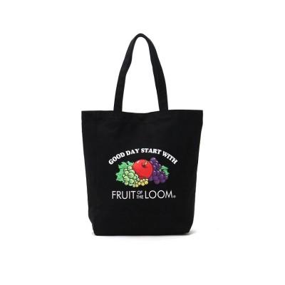 (FRUIT OF THE LOOM/フルーツオブザルーム)フルーツオブザルーム バッグ FRUIT OF THE LOOM トートバッグ キャンバス B4 A4 BASIC BAG 14559300/ユニセックス ブラック