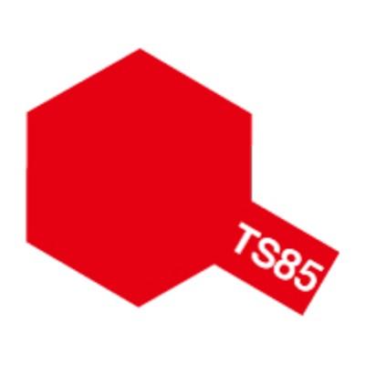 タミヤ 【塗料】スプレーカラー TS-85 ブライトマイカレッド