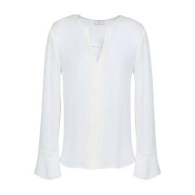 ジョア JOIE レディース ブラウス・シャツ トップス blenda silk blouse White