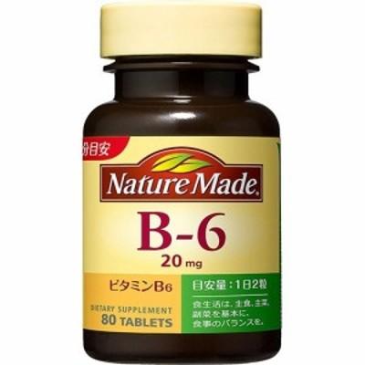 ネイチャーメイド ビタミンB6(80粒入(40日分))[ビタミンB群]