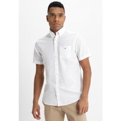 ガント メンズ ファッション BROADCLOTH - Shirt - white