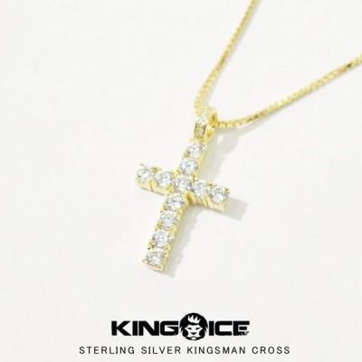 十字架ネックレス クロス KINGICE キングアイス アクセサリー NKX12331 メンズ 男性