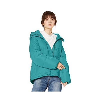 フリーズマート ダウンジャケット マルハチリサイクルダウンブルゾン レディース グリーン 日本 S (日本サイズS相当)