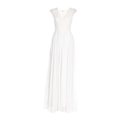 フレンチコネクション FRENCH CONNECTION ロングワンピース&ドレス ホワイト 12 レーヨン 100% ロングワンピース&ドレス