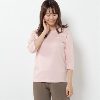 プレミアムコットン7分袖Tシャツ(無地・ボーダー)(クローズトラック/CLOTHES TRUCK)