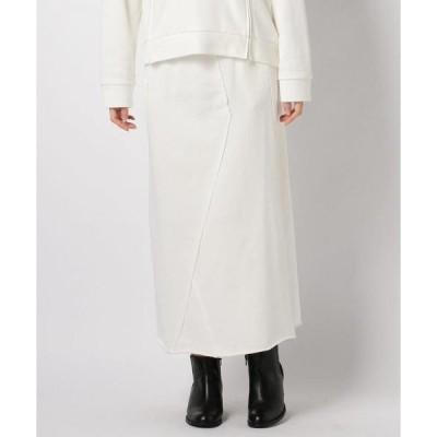 スカート alcali/スウェットスカート