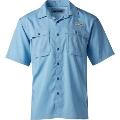 マジェランアウトドア シャツ メンズ Blue Aster