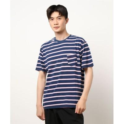 tシャツ Tシャツ 【HOUSTON】INDIGO POCKET Tシャツ