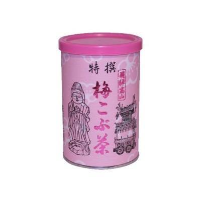 ◆なべしま銘茶オリジナル 梅昆布茶 100g◆ 【20個毎まで1梱包扱い】 (健康茶 梅こぶ茶)