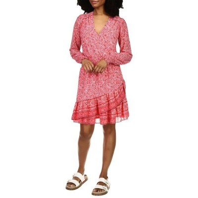 マイケルコース ワンピース トップス レディース Scarf Hippie Julia Dress Rose Pink