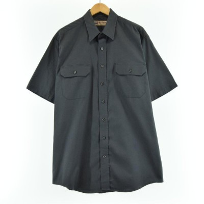 80年代 ビッグマック 半袖 ワークシャツ メンズXL /eaa049791