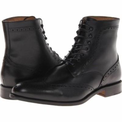 マッテオ マッシモ Massimo Matteo メンズ ブーツ シューズ・靴 7-Eye Wing Boot Black