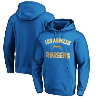 チャージャース パーカー NFL パウダーブルー ロサンゼルス フーディー プルオーバー