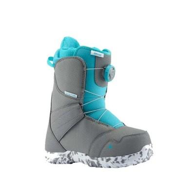バートン(BURTON) ジュニア スノーボード ブーツ ジップライン ボア GRY/SURF 13191104045 BOA (キッズ)
