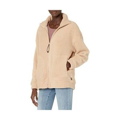 Skechers Women's Sherpa Full Zip 2 Pocket Polar Fleece Jacket Nomad XS 並行輸入