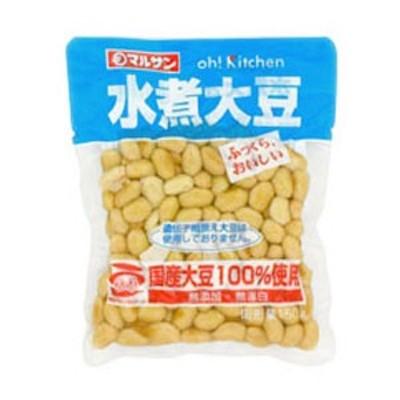 マルサンアイ 国産水煮大豆 150g×20個 [賞味期限:2ヶ月以上] 【4~5営業日以内に出荷】