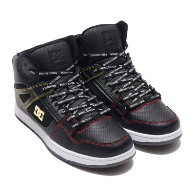 ディーシーシューズ DC SHOES DC SHOES PURE HIGH-TOP SE (BLACK)
