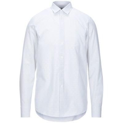 ハマキホ HAMAKI-HO シャツ ライトグレー S コットン 100% シャツ