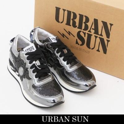 URBAN SUN(アーバンサン) レディーススニーカー ブラック系 LAURE 130