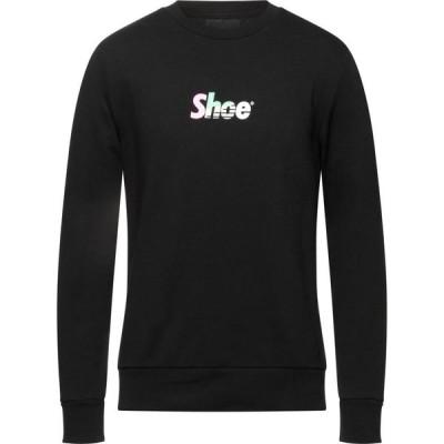 シューシャイン SHOESHINE メンズ スウェット・トレーナー トップス sweatshirt Black