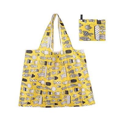 エコバッグ レジ袋 トートバッグ 買い物袋 折りたたみ 防水 使いやすい 大容量 丈夫 耐荷重25kg (Eco Bag L17)