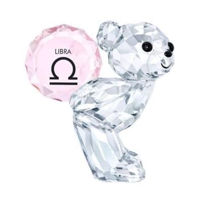 置物 スワロフスキー Swarovski Kris Bear Libra, Horoscope Zodiac Crystal Authentic MIB 5396284