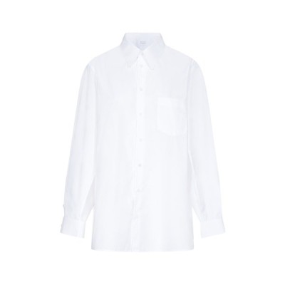 マルタンマルジェラ レディース シャツ トップス Maison Margiela Oversized Sleeve Detail Shirt -