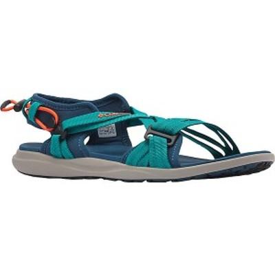 (取寄)コロンビア レディース サンダル Columbia Women's Sandal Petrol Blue / Zing