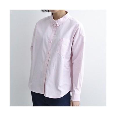 MERLOT IKYU ボタンダウンコットンシャツ