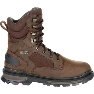 ロッキー Rocky メンズ ブーツ シューズ・靴 Rams Horn 600g Insulated Waterproof Hunting Boots Brown
