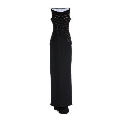 ディースクエアード DSQUARED2 ロングワンピース&ドレス ブラック 40 シルク 100% ロングワンピース&ドレス