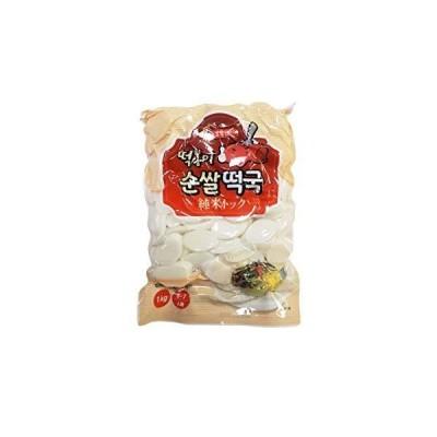 トッポンイ 純米トック1K(6-7人前) トック 餅 米加工品 韓国食品 トッポキ スープ 鍋