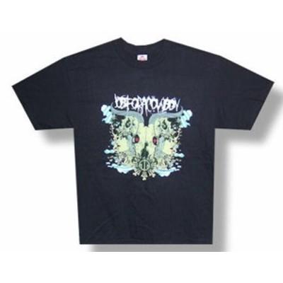 ファッション トップス Job For A Cowboy-Rorschach-Black T-shirt