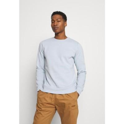 ブレイブソウル メンズ ファッション JONES - Sweatshirt - baby blue/ light grey marl