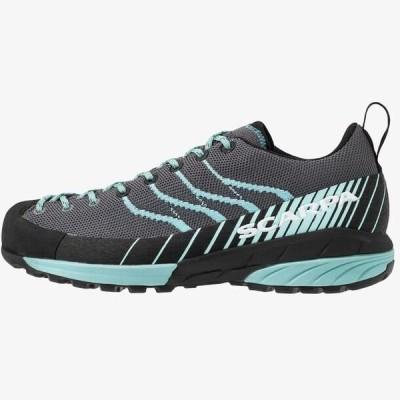 レディース スポーツ用品 MESCALITO - Hiking shoes - gray/aqua