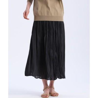 7-ID concept / ワッシャープリーツスカート