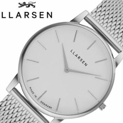 エルラーセン 腕時計 LLARSEN 時計 オリバー Oliver メンズ ホワイト LL147SWSM
