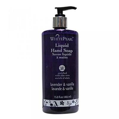 美容・コスメ ネイル ネイルケア White Pearl Liquid Hand Wash With Lavender & Vanilla(466ml) 2310099 正規輸入品