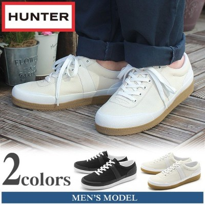 (期間限定価格) ハンター HUNTER スニーカー オリジナル ローキャンバス スニーカー メンズ