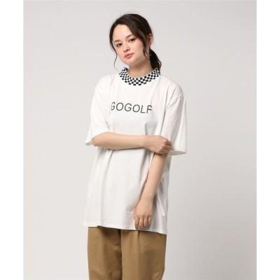 tシャツ Tシャツ 【six mouse】首市松Tシャツ