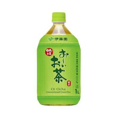 伊藤園 お〜いお茶緑茶 1L×12本