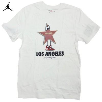 Jordan Los Angeles Star Jumpman Tee ジョーダン 星 ジャンプマン ロサンゼルス限定 Tシャツ 半袖 カットソー 白【ゆうパケット対応】