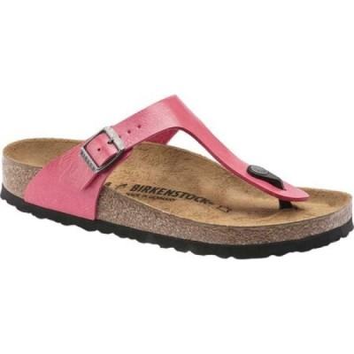 ビルケンシュトック Birkenstock レディース サンダル・ミュール シューズ・靴 gizeh birko-flor sandal Graceful Raspberry Birko-Flor