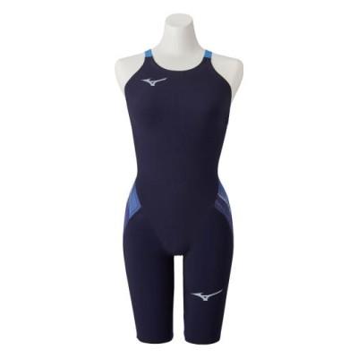 ミズノ 競泳用GX・SONIC V MR ハーフスーツ[ジュニア] 20オーロラブルー 140 スイム 競泳水着 GX・SONIC5 N2MG0202_j