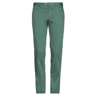 イザイア ISAIA パンツ グリーン 48 コットン 97% / ポリウレタン 3% パンツ