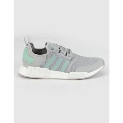 アディダス ADIDAS レディース スニーカー シューズ・靴 NMD_R1 Gray & Mint Shoes GRAY/MINT