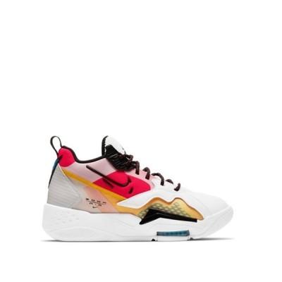 ジョーダン レディース スニーカー シューズ Nike Air Jordan Zoom '92 sneakers in white/black/siren red