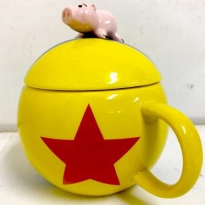 トイストーリー フィギュア付きマグ(ピクサーボール)ハム ディズニー マグカップ コップ コーヒーカップ