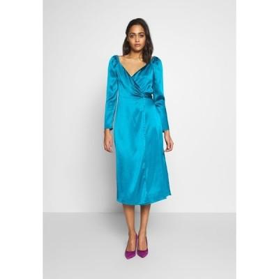 イーストオーダー ワンピース レディース トップス LUCETTE MIDI DRESS - Day dress - turquoise